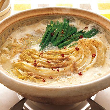 白菜と豚肉の豆乳鍋 | 小林まさみさんの鍋ものの料理レシピ | プロの簡単料理レシピはレタスクラブニュース