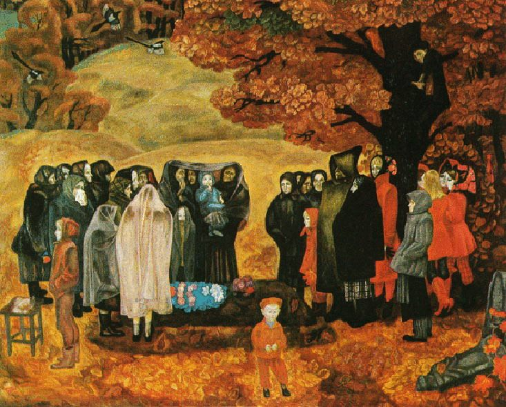 "Viktor Popkov ""A good man was a grandmother, Anisa"" 1973"