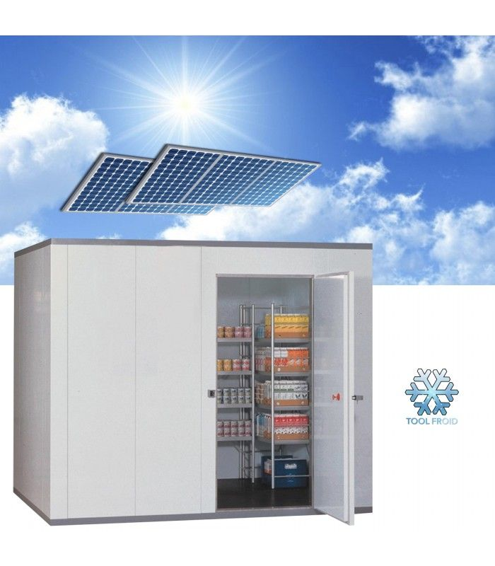 Chambre Froide Solaire 10m3 Toolfroid Chambre Froide Solaire Centrale Solaire