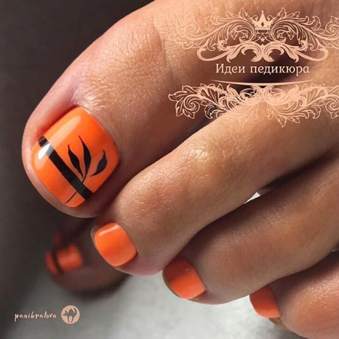 Creative But Easy Halloween Nails Designs You Can Copy In 2020 Toe Nail Color Toe Nails Nail Colors