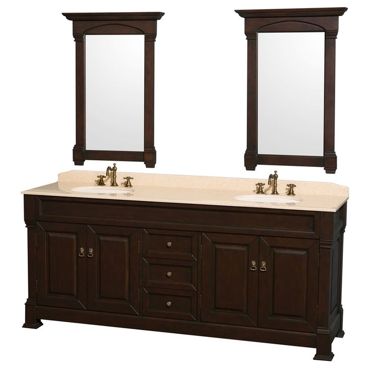 Andover Brown Collection Kitchen Cabinets Solid Wood Soft: 1000+ Ideas About Oak Bathroom On Pinterest
