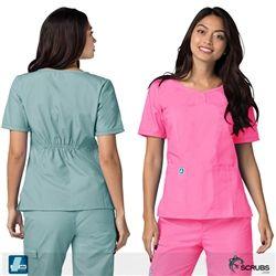 1bf2bba2dcf Adar Medical 628 - Universal Women's Sweetheart Scrub Top at Scrubs.com