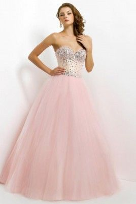 2016 Delicate Sweetheart Beaded Neckline And Bodice Ball Gown Floor Length With Tulle Skirt