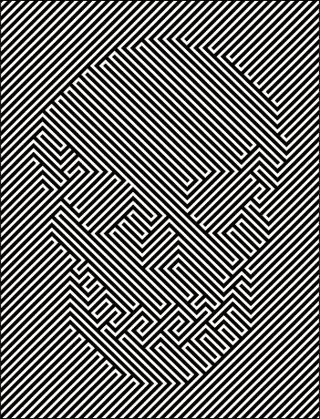 This optical illusion of the skull falls under the gestalts theory of illusion.