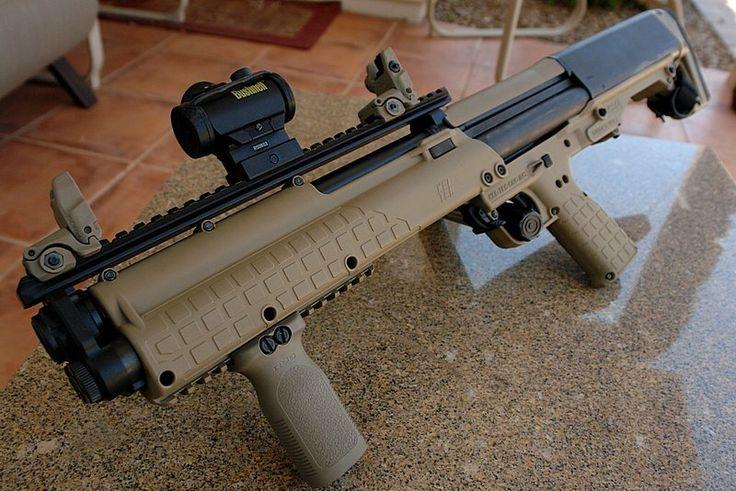 Kel-Tec KSG Shotgun [800x534] | Shotguns, Guns and Weapons