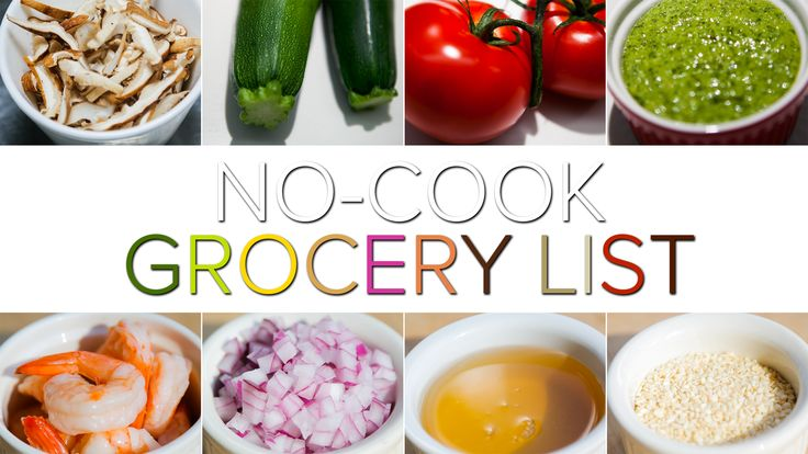 Too hot to cook? Our No-Cook Week recipes are delicious and super-cool