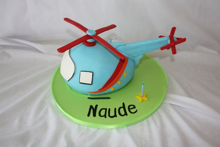 Helicopter Cake - www.suikerbekkie.co.za