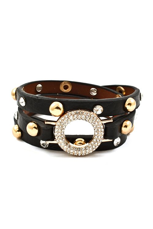 Eternity Crystal Wrap Bracelet