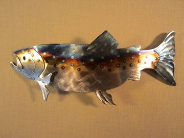 Trout lodge decor and fly fishing on pinterest for Fly fishing decor