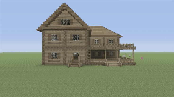 Minecraft tutorial easy house tutorial 4 minecraft for Easy house plans to build