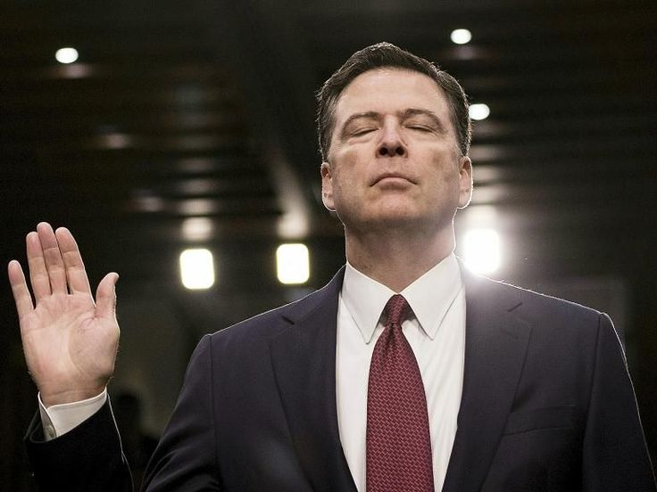 James Comey: Former FBI director questioned for hours by Robert Mueller's team over Trump-Russia links