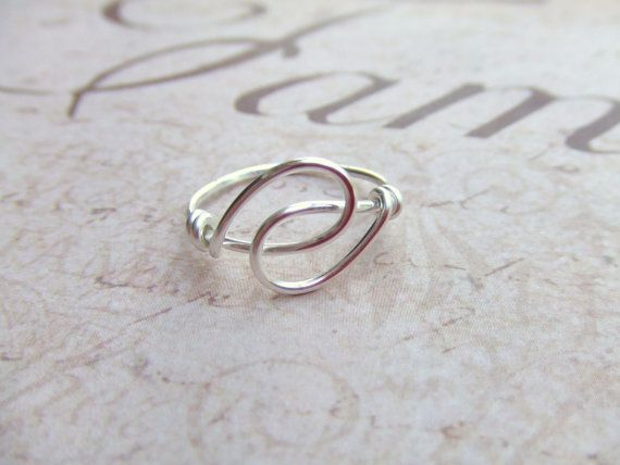 Holding Hands Friendship Ring Any Size Wire by deannewatsonjewelry, $8.95