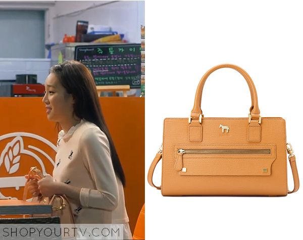 Witch's Romance: Episode 8 Jung Eun Chae's Orange Bag - ShopYourTv