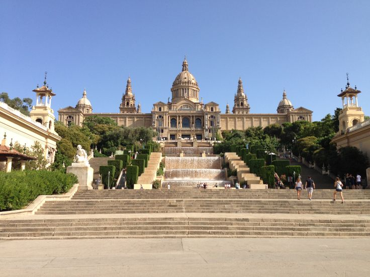 The stunning National Palace, Montjuic Barcelona