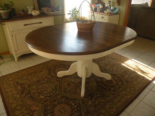 Used Oak Kitchen Table For Sale