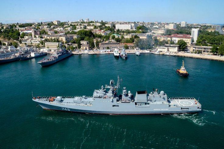 """Новейший фрегат """"Адмирал Григорович"""" в Севастополе. Пополнение прибыло"""