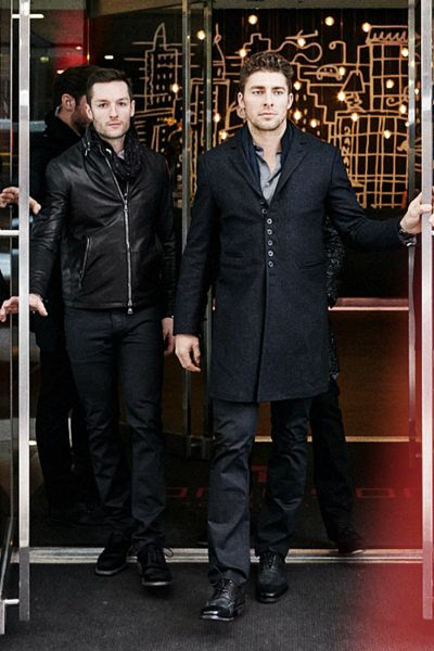 Jonathan Bernier and Joffrey Lupul