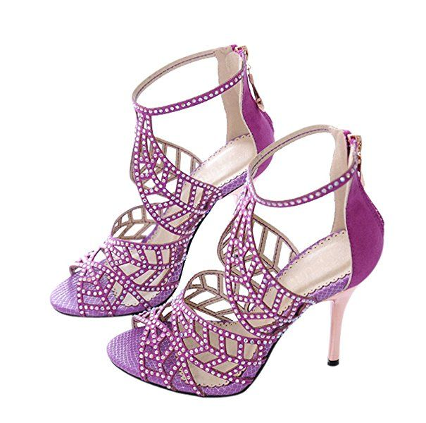17 Best ideas about Purple Heeled Sandals on Pinterest | Purple ...