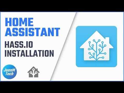 6) Home Assistant: Hass io Installation - YouTube | Smart