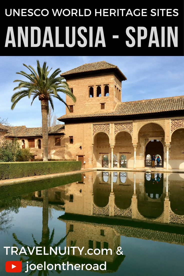 Come and explore the five UNESCO Cultural World Heritage sites in Andalusia, southern Spain, in these five videos
