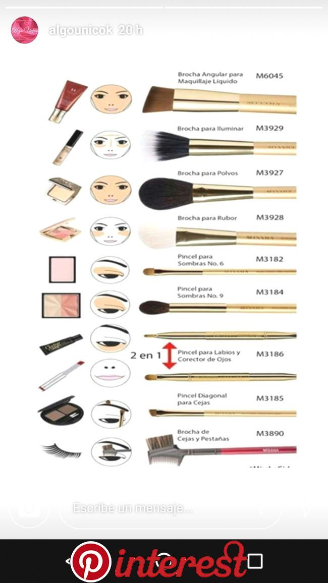 Pin By Amina Hayat On Beaute In 2019 Makeup 101 Pinterest