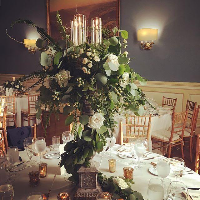 '{Lush} Garland wrapped custom cast iron candelabras this evening for our lovely bride and groom. . . . . . . . . . . . . #philadelphiawedding #philadelphiabride #mainlinebride #bride #petahbashano #petahdoespretty #weddingstyle #weddingdesign #weddingplanner #weddingflowers #weddingdesigner #weddingdetails #weddingseason #junebride #eventdecor #eventprofs #eventdesign #events #eventplanner #peony #rose #garden #design #luxurybride #luxurystyle #luxuryevents' by @petah_bashano_events. What…