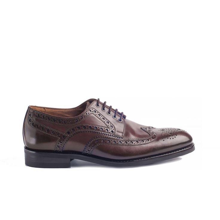 Nord Meka 4579 Q Brown - Nord Shoes - BUTY MĘSKIE - sklep.klasycznebuty.pl