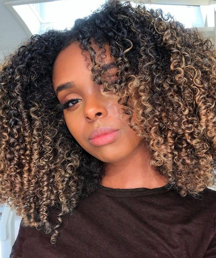 These Curls That Color The Volume Naturalhair Natural