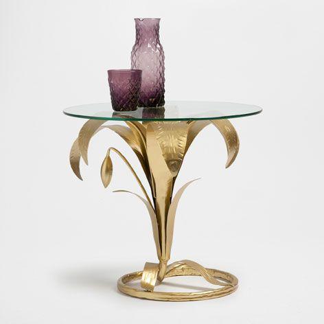 Mesa base flor muebles auxiliares y l mparas decoraci n zara home m xico interiors - Zara home lamparas mesilla ...