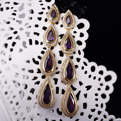 Earring JSS-878 USD55.41, Click photo for shopping guide and discount