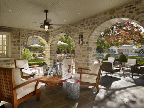 Philip Ivory Architects: Idea, Covers Patio, Doors Design, Outdoor Living, Contemporary Patio, Home Architecture, Covers Porches, Outdoor Spaces, Outdoor Design