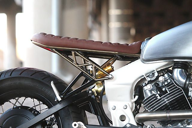 """'92 Yamaha XV920 - 485 Designs.   Ed Burkeand """"Hap"""" Ueno. There's two names that I'm pretty sure mean absolutely nothing to you, despite them being responsible for creating this, the Yamaha Virago.It's because in the world of automotive design, most never get to see the limelight. Besides, the original Yamaha Virago range was not exactly the Brough Superior of it's time. But over the..."""