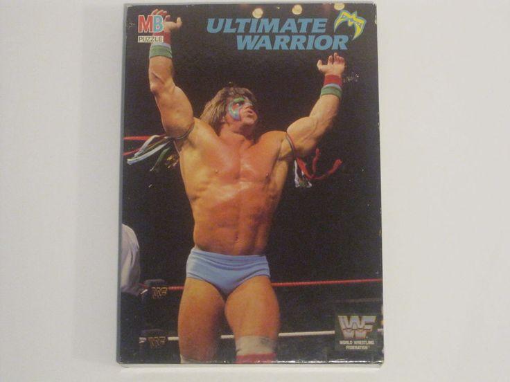 Brand New WWF 1990 Milton Bradley Ultimate Warrior 250 Piece Puzzle WWE
