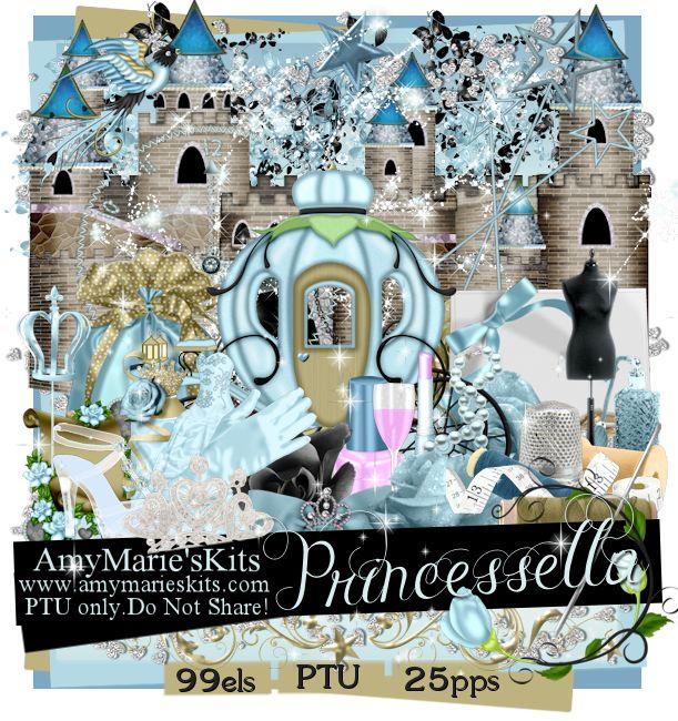 Princessella [AM_Princessella] - $0.90 : AmyMaries Kits