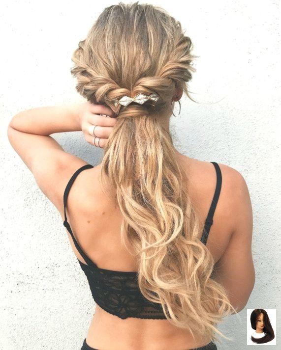 #boho Hairstyle #hairst #hairstyleeasy #hairstylesEasy #ponytail