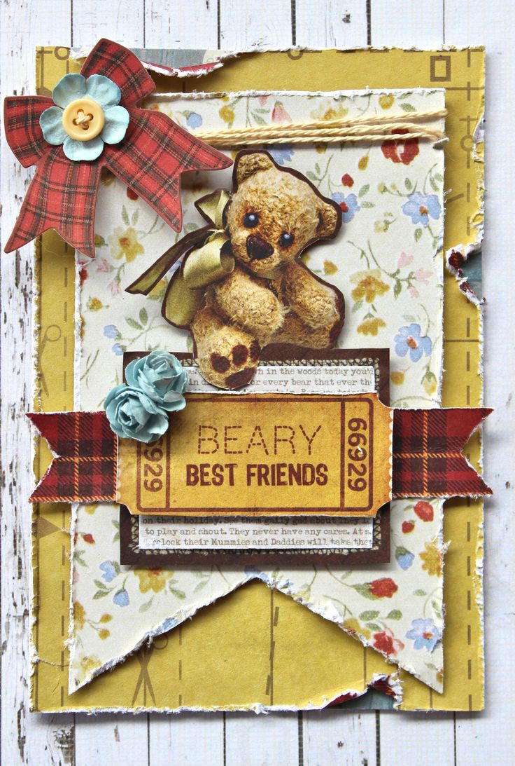 Kaisercraft Teddy Bear's Picnic - Beary Best Friends
