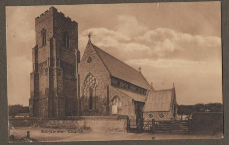 Old Hunstanton Church, HUNSTANTON, Norfolk 1911 Postcard Vintage (Q55) | eBay