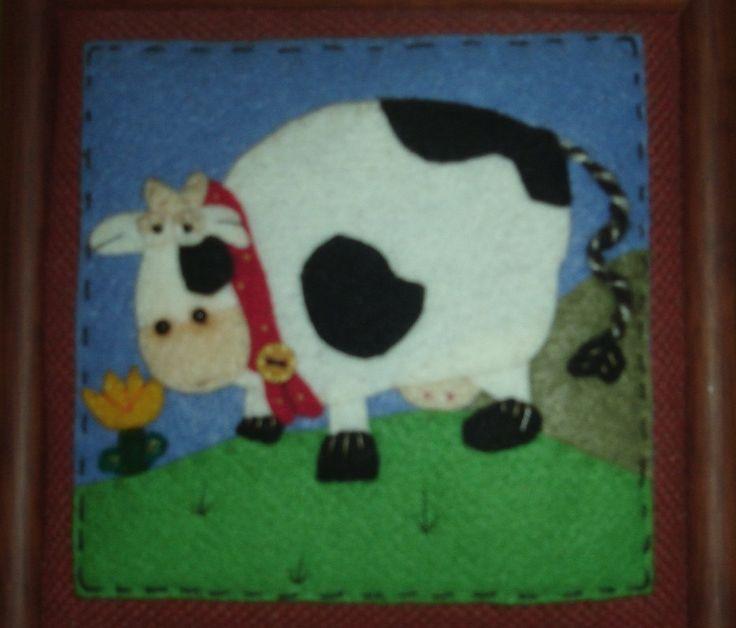 Vaca realizada en Puntada & Punto