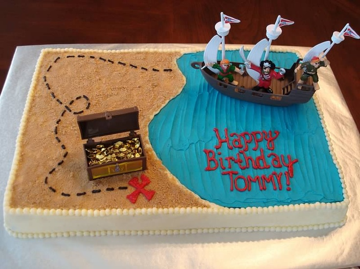 9 Best Images About Pirate Cake On Pinterest Sands