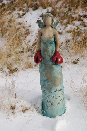 Skulptur  Elisabeth Helvin