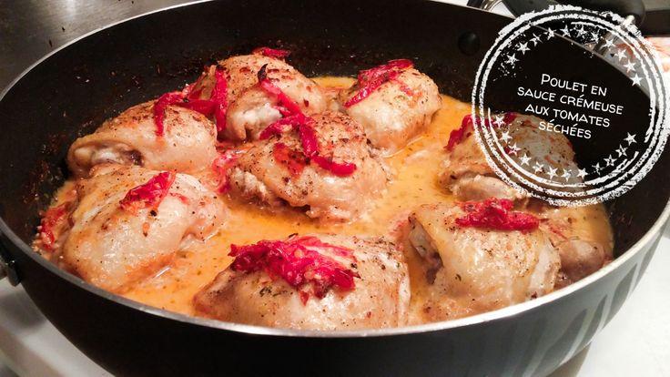 J'avais vraiment hâte d'essayer cette recette! Je vous ai déjà présentés deux recettes à faire avec des hauts de cuisse de poulet avec os et peau (une de poulet à la mijoteuseet une de poulet grillé sésame et miel)et les deux recettes avaient un style plutôt asiatique. Et honnêtement, beaucoup des recettes que je trouve… Lire la suite Poulet en sauce crémeuse aux tomates séchées