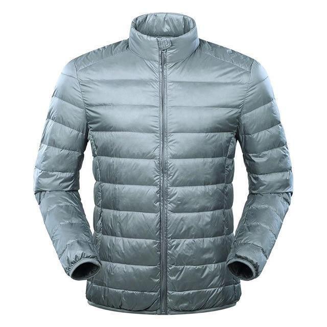 Mens Large Size Ultra Light Down Jacket Men Duck Down