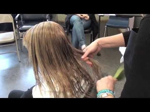 ▶ Color Class: LOW LIGHTING; blow dry hot roller style - YouTube
