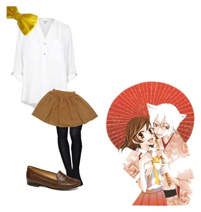 """""""Kamisama Kiss: Nanami"""" by theflyingmingbunny ❤ liked on Polyvore featuring American Apparel, Jack Rogers and anime"""