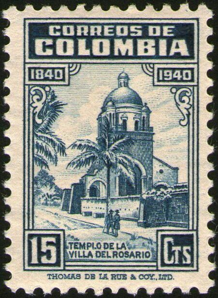¡¡¡TEMPLO VILLA DEL ROSARIO, EMITIFA 1940!!!