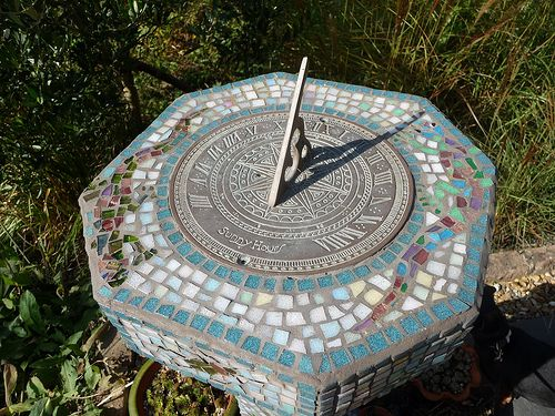 U2026our Beautiful Mosaic Sundial | Garden House Brighton