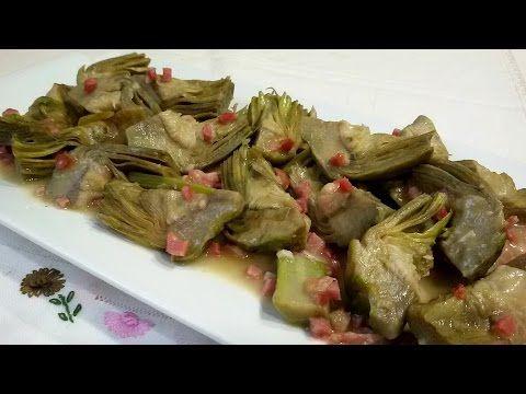 Cómo hacer alcachofas estofadas, al estilo de Mariaje. - YouTube