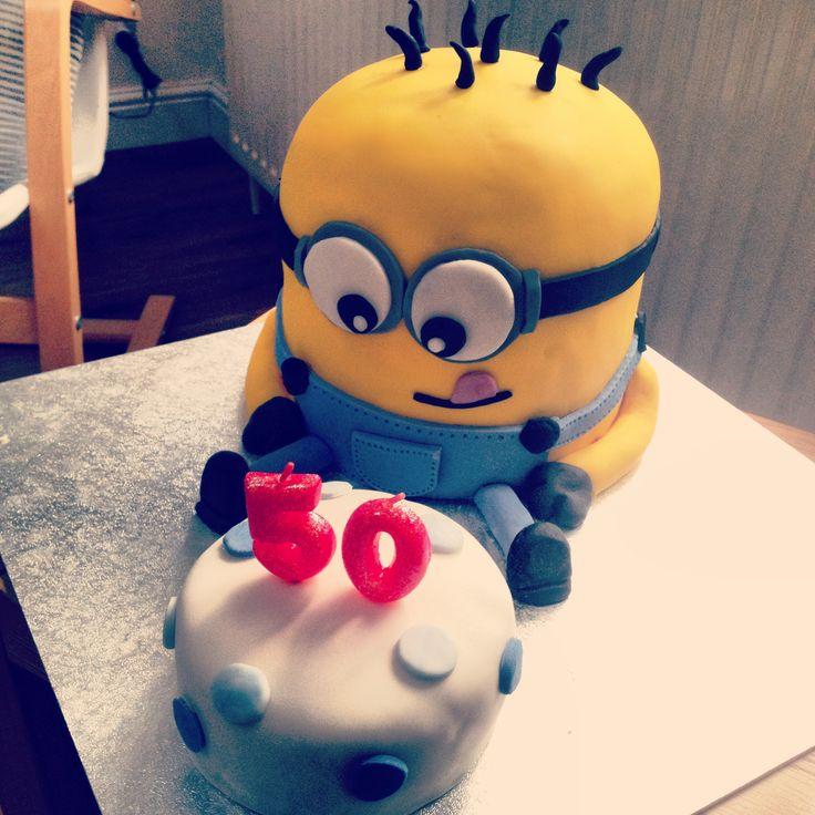 Minion Mayhem!  A recent birthday cake I made with my sister!