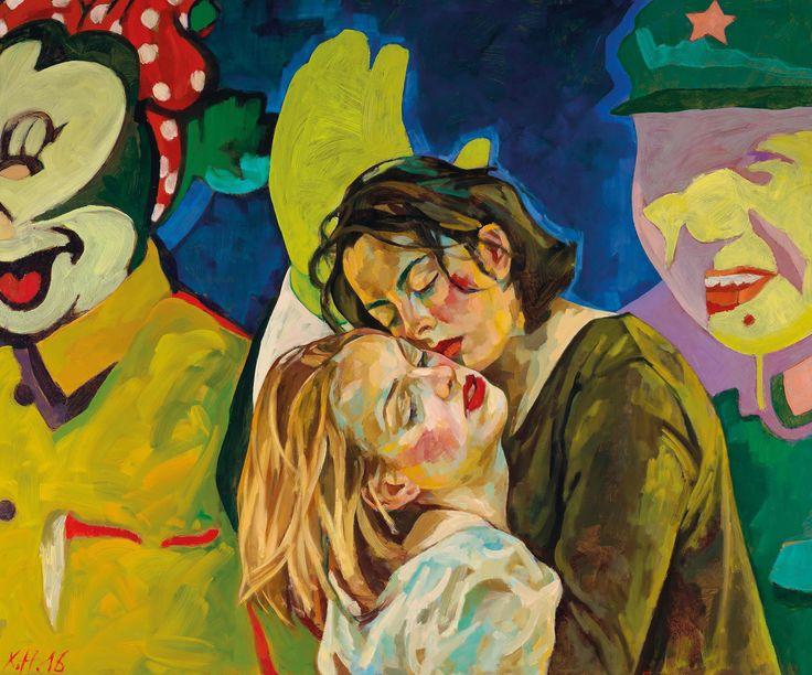 https://flic.kr/p/21KcnJZ | Xenia Hausner - Pure Cool | [Palais Dorotheum, Vienna - Acrylic and oil on dibond, 149 x 179 cm]