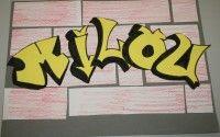 Tekenen in de bovenbouw, graffiti | Educatie en School: Diversen